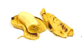 Pele de banana Foto de Stock