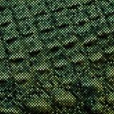 Pele de serpente do mosaico Imagem de Stock Royalty Free
