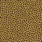 Pele do fundo da textura do leopardo Foto de Stock Royalty Free