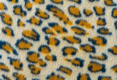 Pele do leopardo da coloração de pano imagem de stock royalty free