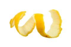 Pele do limão fotos de stock