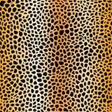 A pele mancha o teste padrão sem emenda, malha do ouro Imagens de Stock Royalty Free