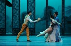 Pelea entre de los hermanos- el acto en segundo lugar de los eventos del drama-Shawan de la danza del pasado Imagen de archivo libre de regalías