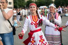 Peledysh payrem festival Stock Foto's