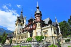 Peles城堡,锡纳亚,罗马尼亚 库存图片