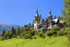 Peles城堡,锡纳亚,罗马尼亚 库存照片