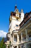Peles城堡(罗马尼亚) 免版税库存图片
