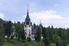 Peles城堡 免版税库存图片