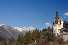 Peles城堡Sinaia,罗马尼亚 库存照片