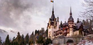 peles Румыния замока Стоковые Изображения