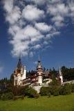 城堡peles 免版税图库摄影