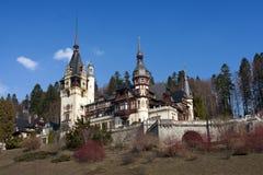 Peles casle, Transylvania Stock Images