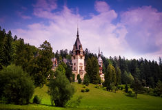 Peles_castle_01 Stock Photos