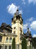 Peles Castle. Of the Royal Family Sinaia Romania Royalty Free Stock Image