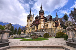 The Peles Castle Stock Photos
