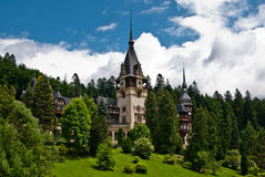 PELES CASTLE IN SINAIA, ROMANIA Stock Images