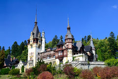 Peles Castle Stock Photos