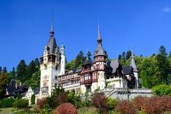 Peles Castle. In Sinaia, Romania Stock Photos