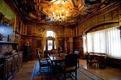 Peles castle Royalty Free Stock Photos