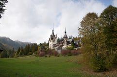 Peles Castle. From Sinaia - Romania Stock Image