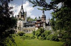 Peles castle. View of Peles castle - Sinaia, Romania Stock Images