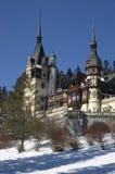 Peles castle. View of Peles Castle, Romania Stock Photos