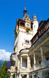 Peles Castle (Ρουμανία) Στοκ εικόνα με δικαίωμα ελεύθερης χρήσης