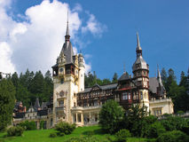 Peles Castle. In Sinaia, Romania Stock Photography