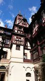 Peles castle - architectural details Stock Photography
