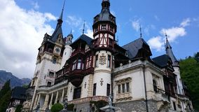Peles castle - architectural details Royalty Free Stock Photography