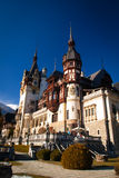 Peles Castle in the Carpathians Mountains, Romania. Royalty Free Stock Photography