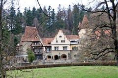Peles Castle Complex, Sinaia, Romania Royalty Free Stock Photos