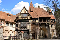 Peles Castle Complex, Sinaia, Romania Royalty Free Stock Photo