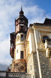 Peles Castle detail Royalty Free Stock Photography