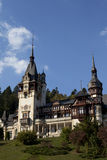 peles castle gardens Royalty Free Stock Photos