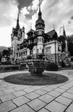 Peles castle royalty free stock photos