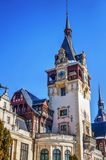 Peles Castle, residence of King Mihai I of Romania Royalty Free Stock Images