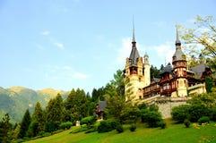 Peles castle, Romania Stock Photo