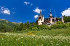 Peles Castle, Romania Royalty Free Stock Photos