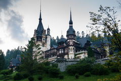 Peles Castle, Romania Stock Photos