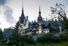 Peles Castle, Romania stock photos