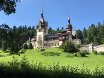 Peles Castle, Sinaia, Romania - beauty royalty free stock image