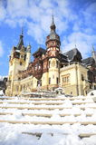 Peles castle, Romania-Sinaia Stock Photography