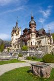 Peles castle in Romania Stock Image