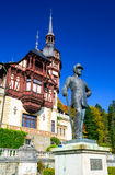 Peles Castle, Romania Royalty Free Stock Photography