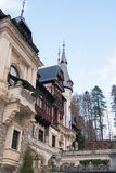 Peles castle in Romania Royalty Free Stock Images