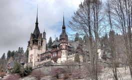 Peles castle in Romania Royalty Free Stock Photo