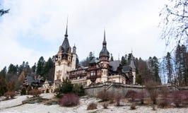 Peles castle in Romania Stock Photography