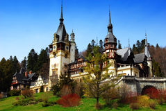 Peles Castle in Sinaia Stock Images
