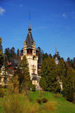 Peles Castle in Sinaia Royalty Free Stock Photo